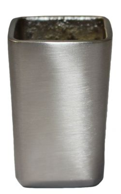 Empire Brushed Nickel Square Slipper Cup