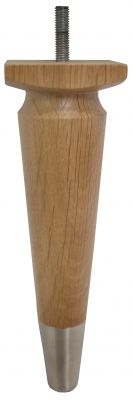 Thelma Solid Oak Legs with Satin Slipper Cups